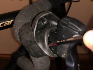 ブレーキレバーの位置調整