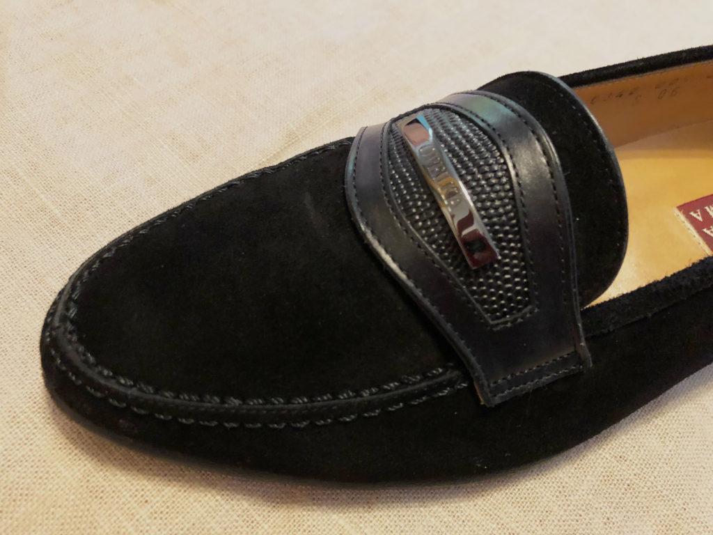 スエード靴