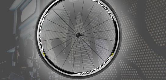 自転車のホイールとタイヤ